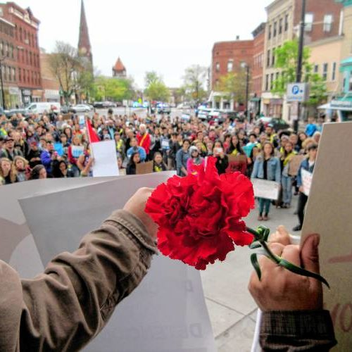 May Day Carnation Rally